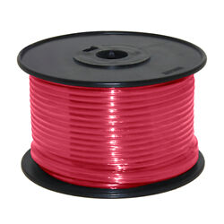 Wire 14 Awg Red 100ft Roll Ul Fine Strand Tinned Copper
