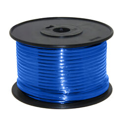 Wire 14 Awg Blue 100ft Roll Ul Fine Strand Tinned Copper