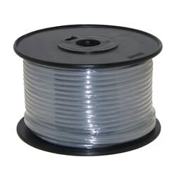 Wire 14 Awg Grey 100ft Roll Ul Fine Strand Tinned Copper