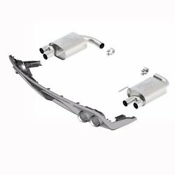 2015-2016 Mustang Gt 5.0l Touring Kit W/ Gt350 Tips And Valance M-5230-m8tbv