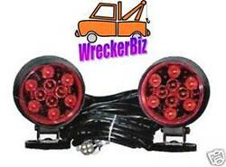 Magnetic Led Tow Lights - Wrecker Tow Truck Car Hauler Car Carrier Commercial