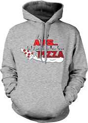 I Want Abs But I Would Rather Have Pizza Eat Lazy Fat Old Gym Hoodie Sweatshirt