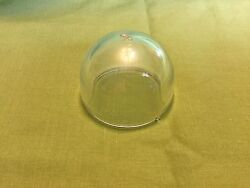 Antique Grimes Aircraft Glass Light Lens Clear With Mounting Tits - Very Rare
