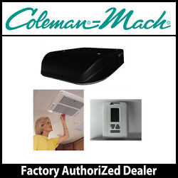 Coleman Mach8 15K Ducted Low Profile Black AC wHeat Pump- Roof Ceiling Thermo