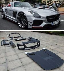 for Mercedes Benz AMG SLS C197 wide bodykit PD-style
