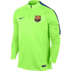 Nike Fc Barcelona Drill Top 2017 Ghost Green/game Royal.