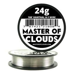 Kanthal A-1 Wire Gauge 20 22 24 26 28 30 32 34 36 - 25 50 100 250 500 1000 Ft.