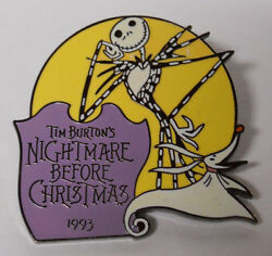 1999 Disney Countdown To The Millennium Pin 72-the Nightmare Before Christmas