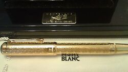 Louis Xiv Patron Of Art Limited Edition Fountain Pen 1994 Mint New