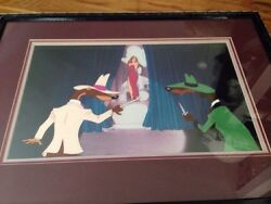 Disney's Roger Rabbit And Weasels Jessica Movie Production Cell Great Scene Sale