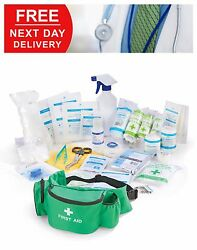Personal Sports First Aid Kit In Bumbag Football Rugby Physio Emergency Medical