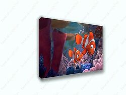 Finding Nemo First Day Of School Movie Canvas Print Art Home Decor Wall