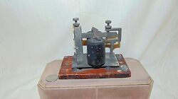 1903 Wutel Co Telegraph Sounder New York Repair Shop Of Western Union