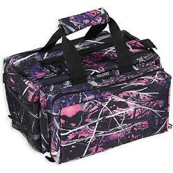 Brand New Bulldog Cases Deluxe Muddy Girl Range Bag with Strap CamoBlack