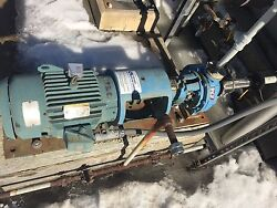 Goulds 3196lf 1x1-1/2-8 Centrifugal Pump 15 Gpm @ 190andrsquo Tdh 7.5hp 230-460/3/60