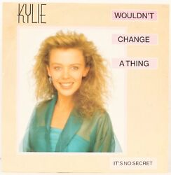 Wouldnandamprsquot Change A Thing Kylie Minogue Vinyl Record