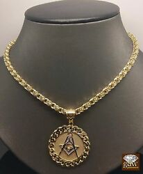 10k Yellow Gold Chino Byzantine Chain 3018.4 Gramalso Available With Charm