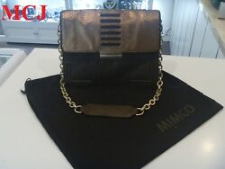 Mimco Scale Day Brown amp; Bronze Bag Chain Shoulder Strap New amp; Authentic AU $129.00