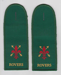 United Kingdom / British Resa Scouts - Rover Scout Rs Epaulettes Patch Pair