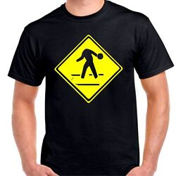 Bowling head slow sign warming love pins gutters T shirt