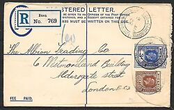 British Occupation Kamerun Covers 1931 R-cover Buea To London
