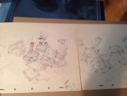Disneyand039s Autograph Hound Donald Duck 2 Production Drawings