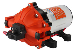 Seaflo 12v Dc 5.0 Gpm 60 Psi Water Pressure Pump W/ Quick-connect Fittings