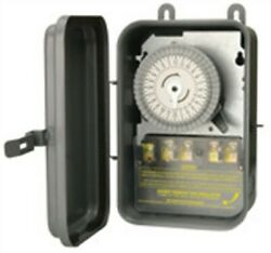 Woods 59104rwd 40a 208/277v 11080w Outdoor Manual Override Timer Switch