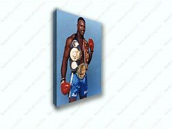 Evander Real Deal Holyfield Boxing Famous 1 Poster Canvas Print Art Decor Wall