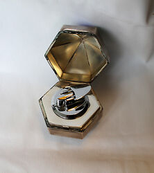 Rare Enamel Pure Silver Lighter Ro N Son From Estate