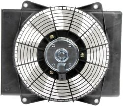 06-17 CHEV 08-01 GMC CHEV 08-16 ISUZU RPO C60 MANUAL TEMP CONTROL CONDENSER FAN