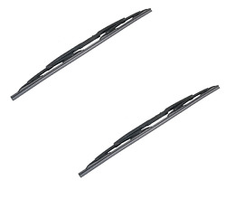Left + Right 2 Front Windshield Washer Wiper Blade Set Pair for Land Rover
