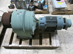 Parker Motor W/ Gear 10-215tc-tm7a-38.4-a1 Ratio 38.4 45rpm Out Used