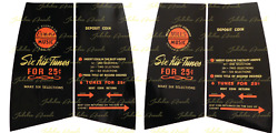 Mills / Evans Constellation Upper Decal Set, Free Shipping From Jukebox Arcade