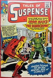 Tales Of Suspense 51 1964 1st Appearance Of Scarecrow Nmt