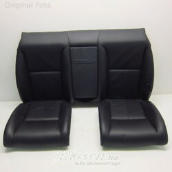 seat bench Mercedes S-Class C216 CL rear bench seat 501A leather EXCLUSIV