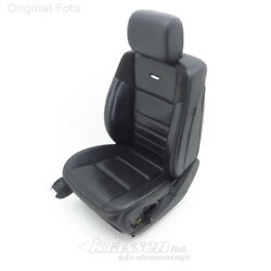 seat front Left Mercedes M-CLASS W164 ML 63 AMG 501A leather EXCLUSIV