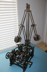 James Watt L. Kaufmann Centrifugal Governor & Bevel Gear Prototype 1780  1790