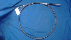 Mercury Style Control Cable - Old Style W/ Metal Guide - 11 Ft - Used