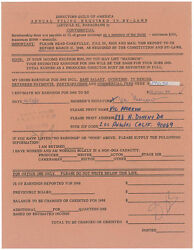VIC MORROW - DOCUMENT SIGNED 12191968