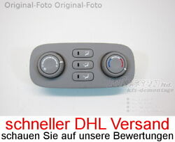 heating control panel That Carnival III VQ 97340-4DXXX