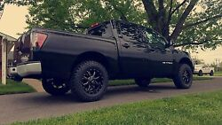 Mo970 17x9 Black Milled -12 Wheels Tires Package 5x139.7 5x5.5 33 At Dodge Ram