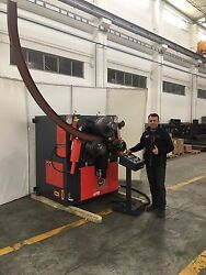 New RMT A-FAB 472 Hydraulic Angle Roll with I beam Pulling Apparatus