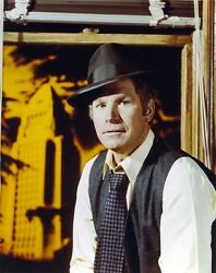 Wayne Rogers in Formal Outfit With Hat Portrait High Quality Photo