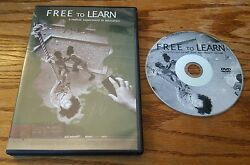 Free To Learn Dvd Bhawin Suchak Jeff Root Documentary Film Free School Ny Rare