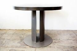 Machine Age Industrial Style Dining Table Custom Made