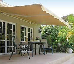 15' Awning, SunSetter Motorized Retractable Awning, Outdoor Deck