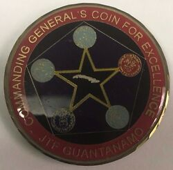 Jtf-gtmo Joint Task Force Guantanamo Commanding General's Coin For Excellence