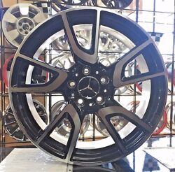 18 18 Inch New Staggered Mercedes Benz Wheels Rims S550 S55 S65 S600 S63 4-set