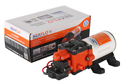 New Seaflo 22-series High Pressure Water Pump -12v 100psi 1.3gpm For Rv Boat